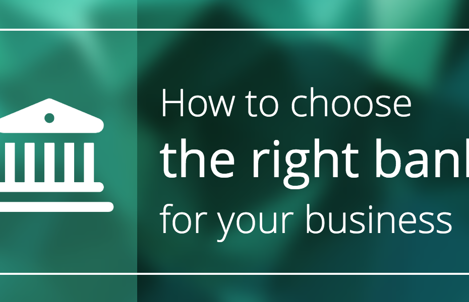 how to choose a business bank