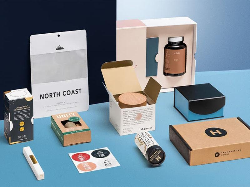 custom printed kraft boxes