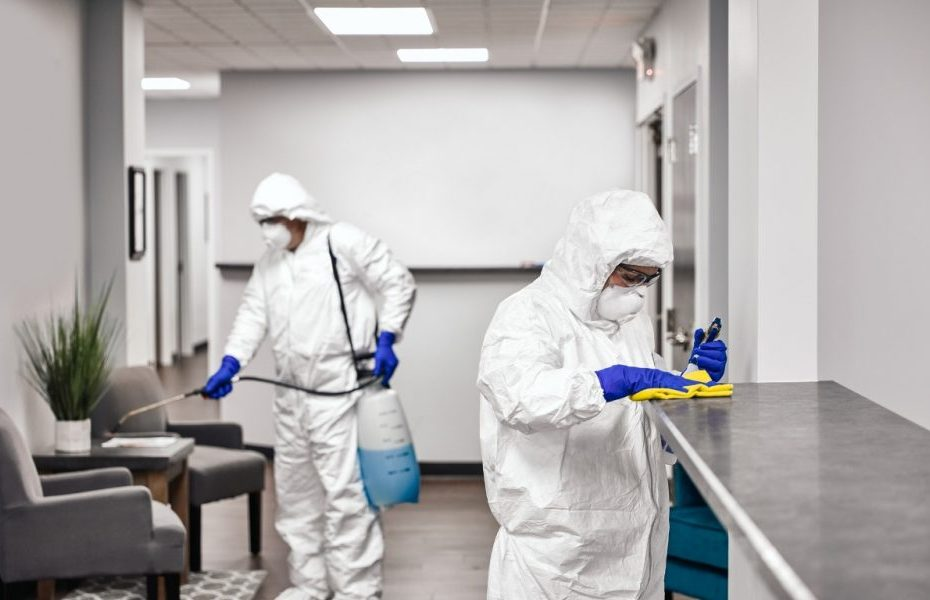 coronavirus cleaning services